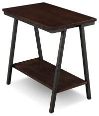 Shop Houzz | Leick Home Empiria Narrow Chairside Table ...