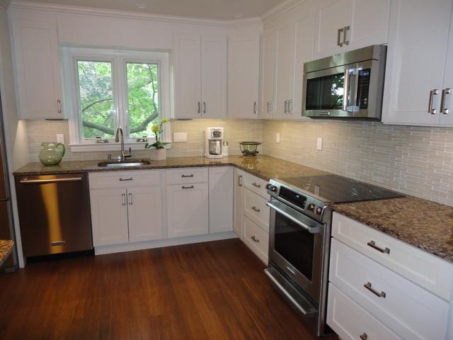 White Kitchen Cabinets  Shaker Kitchen Cabinets
