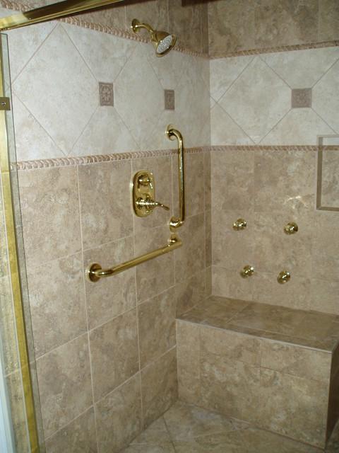 over the kitchen sink lighting modern nook handicap shower - traditional bathroom nashville by ...