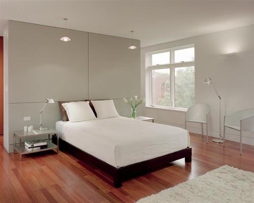 Queen Village residence master suite bedroom