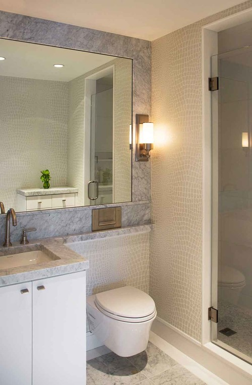 8 Bathroom Designs That Save Space