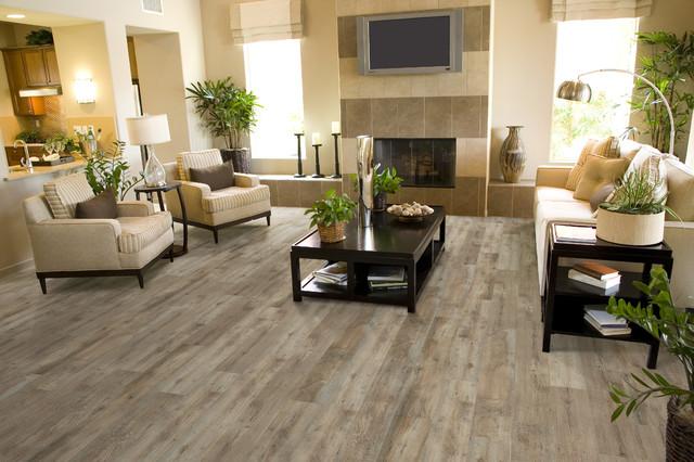 Luxury Vinyl Plank/Tile   Transitional   Living Room   Toronto   by Gabriele Floor & Home ...