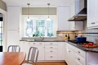 Bay Window over Kitchen Sink - Traditional - Kitchen ...