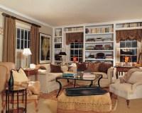 English Cottage - Traditional - Living Room - New York ...