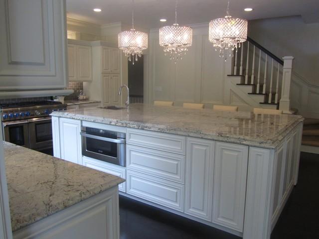 Granite And Engineered Quartz Countertops  Traditional