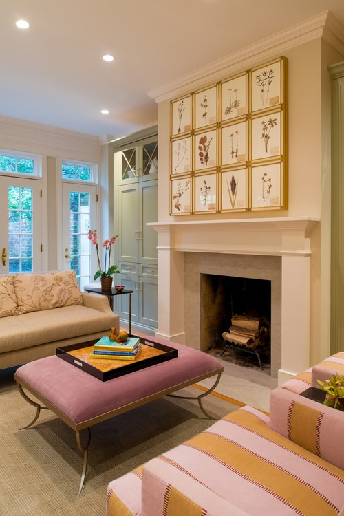hiding tv in living room decorating ideas for with black couch clever and diyable ways to hide a flat screen addicted 2 old town alexandria row house