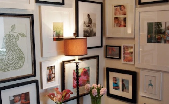 Gallery Wall Eclectic Hall St Louis By Little