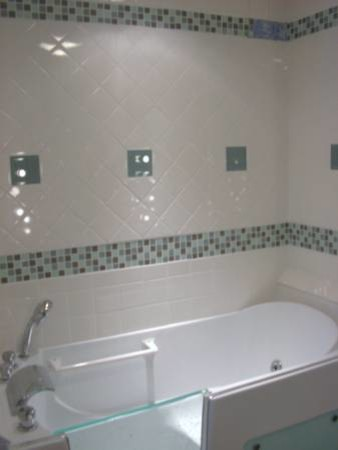 Remodeled 1950s Bathroom  Traditional  Bathroom  Grand