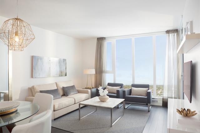 contemporary fabric sofas sofa costco couple suite, harmony - living room ...