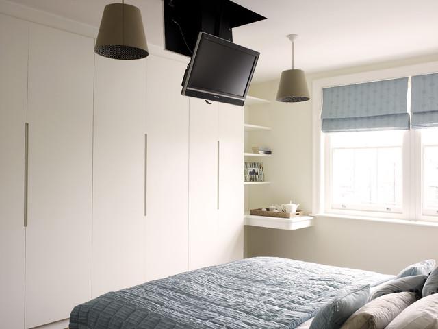 Bryanston Square modern-schlafzimmer