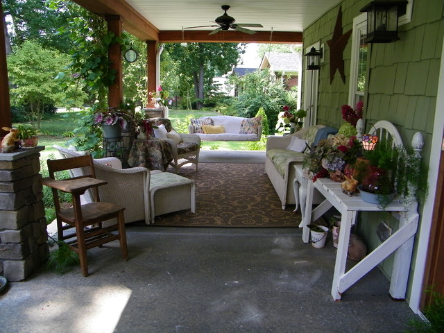Front Porch Makeover Summer 2010