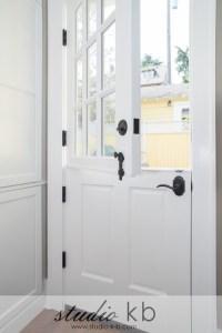 Dutch Door with screen?