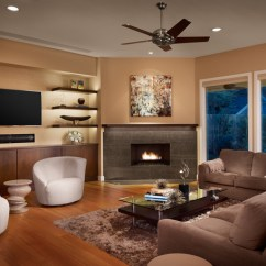 Pictures Of Living Rooms With Fireplaces And Tv Room Corner Wall Decorating Ideas 7 Ways To Rock A Fireplace Combo Contemporary By Laura Burton Interiors