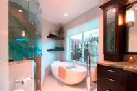 Transitional Bathroom Remodel (Miami, FL)