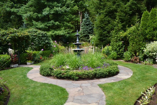 Front Yard Fountain Ideas