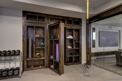 Photo By Finished Basement Company U2013 Search Home Gym Design Ideas