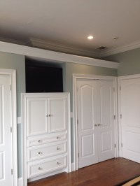 built in cabinets in master bedroom - Traditional - Closet ...