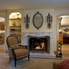 Country French Side Chairs Walmart Desks And Family Room - Victorian Orange County By Peg Berens Interior ...