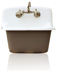 Shop Houzz   re Deep Utility Sink Antique Style Cast Iron ...