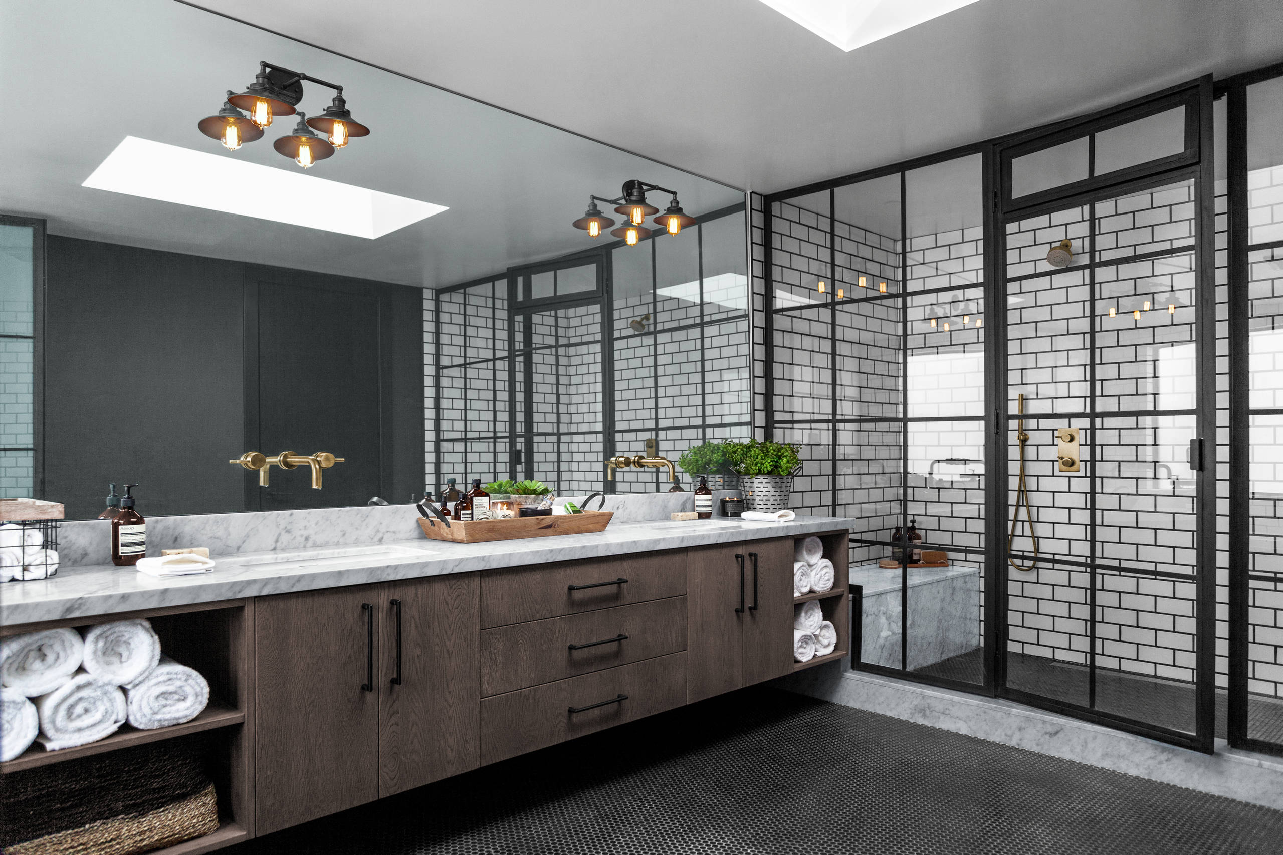 Must See Industrial Bathroom Pictures Ideas Before You Renovate 2020 Houzz