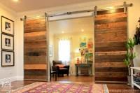 Custom Barn Door with Stainless Steel Barn Door Hardware ...