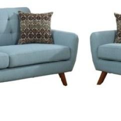 Living Room Sofa And Loveseat Sets Tree Modern Set Laguna Midcentury