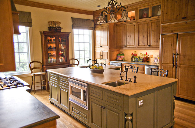 Luxury Home With A View Traditional Kitchen Austin By