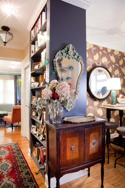Bohemian Condo Eclectic Hall Chicago By Lisa Wolfe