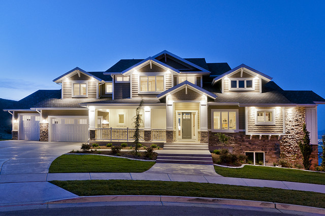 Modified Telluride Craftsman Exterior Salt Lake City By