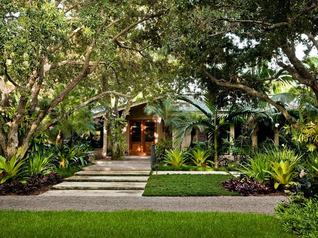 South Miami Garden Tropical Landscape Miami By Raymond