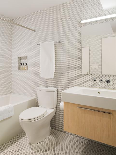 McElroy Renovation  Midcentury  Bathroom  Philadelphia