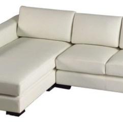 T35 Mini Modern White Leather Sectional Sofa Polish Bed With Storage Uk Divani Casa Eco Light