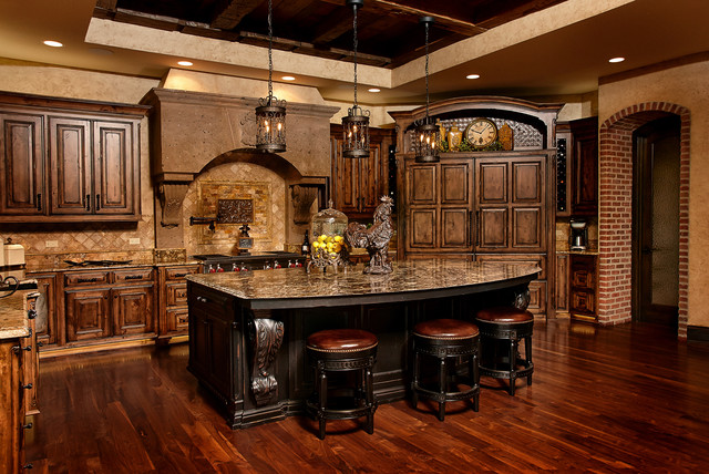 Old World Charm Cabinets Custom Wood Products