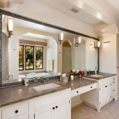 Pink Countertops Kitchen Used Metal Cabinets For Sale Hope Ranch Spanish Style Custom Home Master Bath ...
