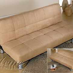 Klik Klak Sofa With Storage Albany Leather Futon – Roselawnlutheran