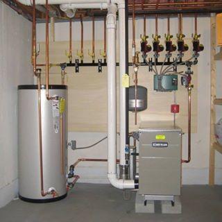 Weil Mclain GV 90 Plus High Efficiency Gas Boiler With