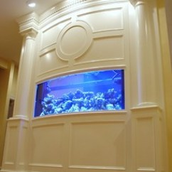 Baltimore Kitchen Remodeling Outdoor Houston Built-in Aquarium, Fireplace, And Theater ...
