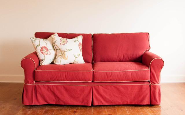 Red Sofa Slipcovers – TheSofa