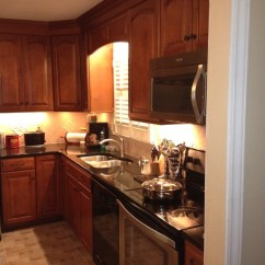 Shenandoah Kitchen Cabinets Waverly Curtains Cabinetry: Winchester Maple, Cognac Finsh ...