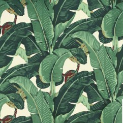 Banana Leaf Dining Room Chairs French Bedroom Chair Nz Beverly Hills Martinique Wallpaper - Beach Style Los Angeles By Designer ...