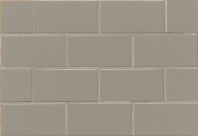 traditions 3 x6 matte subway tile taupe