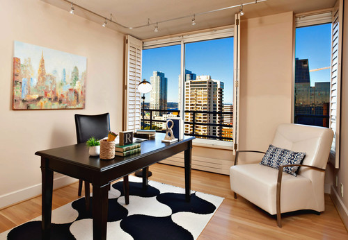 Eclectic Water and City View Belltown Condo