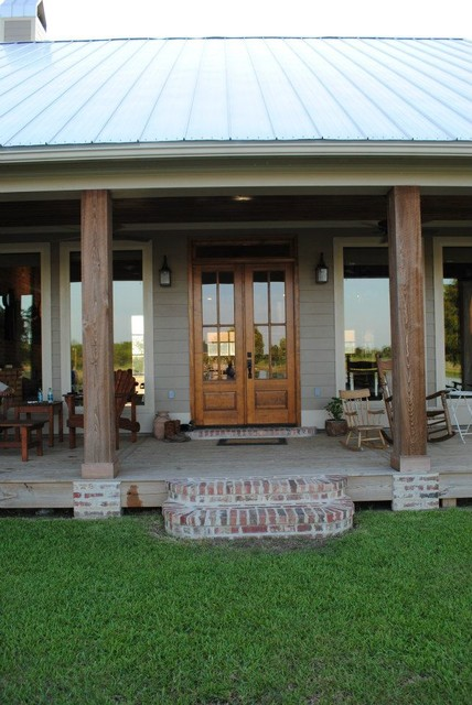 Kulbeth Farmhouse Porch New Orleans By LINES Made