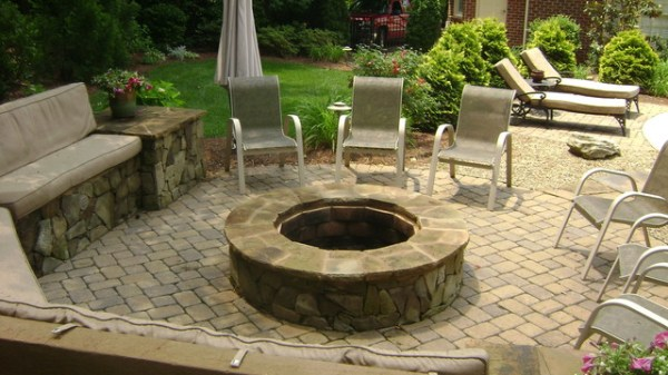matthews nc fire pit - traditional