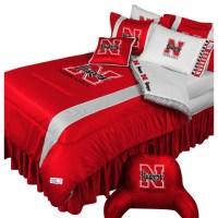 NCAA Nebraska Huskers Bedding Set College Football Bedding ...