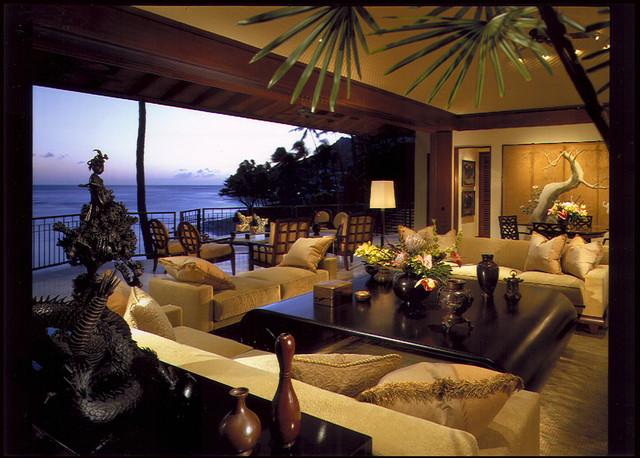 Living Room  Lanai  Tropical  Living Room  Hawaii  by
