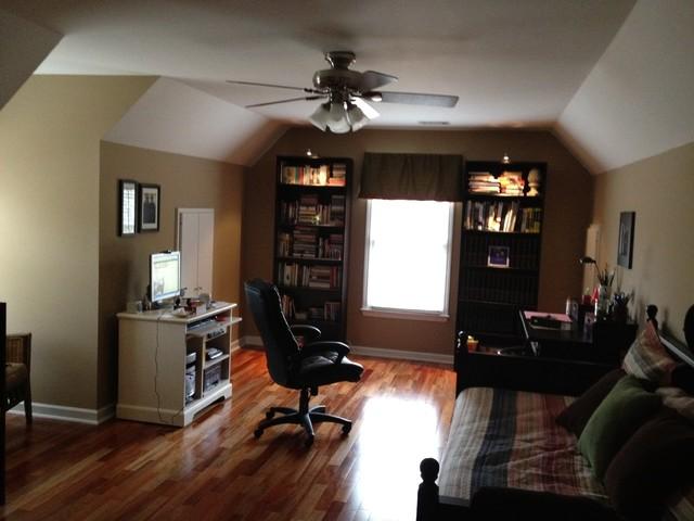 Bonus room officecraft room  Traditional  Home Office