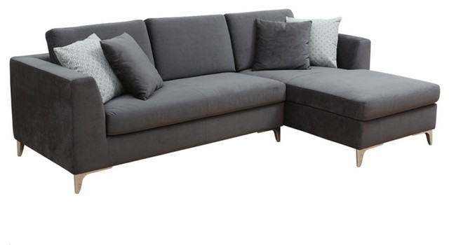 comfortable sofa chaise fabric modern sectional sofas