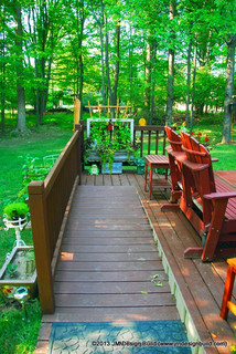 Handicap Accessible Deck with Ramp  Contemporary  Porch  Cleveland  by JM Design Build