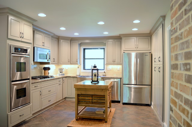 Buford GA Lake House Kitchen Remodel Contemporary Kitchen